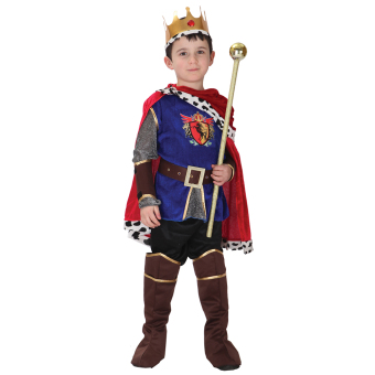 EOZY Halloween Children Boys King Cosplay Costume Halloween Prince Charming Party Clothes -L Price Philippines