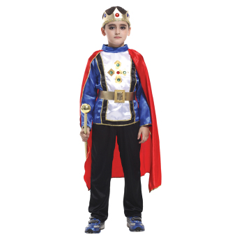 EOZY Halloween Children Boys King Cosplay Costume Halloween Prince Charming Party Clothes -M