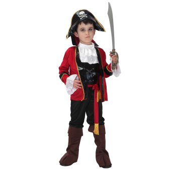 EOZY Halloween Party Supplies Pirate Cosplay Boy Clothing Halloween Costume For Kids Children Christmas Costumes -M