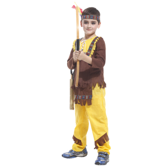 EOZY Indian Prince Hunter Cosplay Costumes Halloween Photography Clothing For Children Kids Boys -L Price Philippines