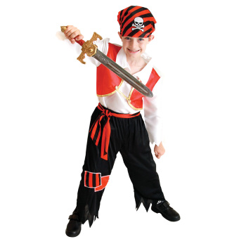 EOZY Kids Boys Pirate Costumes/Cosplay Costumes For Boys/HalloweenCosplay Costumes -L Price Philippines