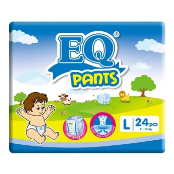 EQ Pants Diaper Big Pack L 24's Price Philippines