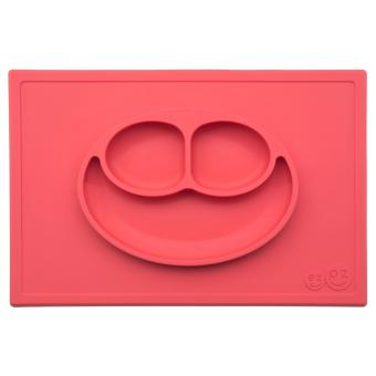 EZPZ Happy Mat (Coral) Silicone Placemat + Plate Price Philippines