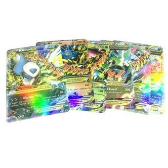 Fancyqube 18pcs/lot Pokemon card Pokemon card Pokemon MEGA EX flashcards - 2