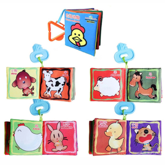 Fancytoy Kid Baby Educational Toy Intelligence development ClothCognize Book