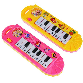 Fancytoy Kids Musical Piano Toy Funny Toy Early Educational (Color Random)