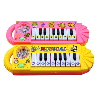 Fancytoy Kids Musical Piano Toy Funny Toy Early Educational (Color Random) - 2