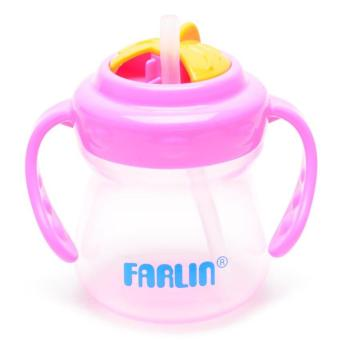 Farlin Multi-Stage Training Cup (Pink) - 2