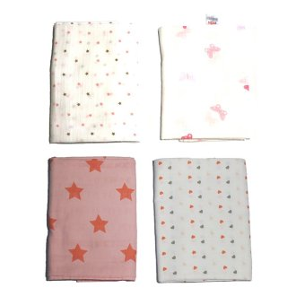 Feo en Rafa Muslin Swaddle Set of 4