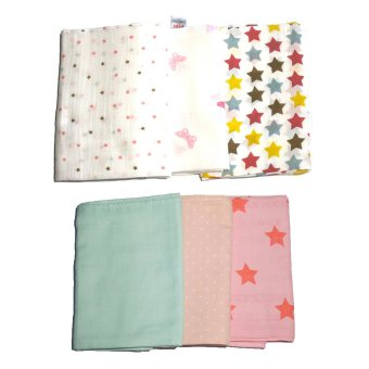 Feo en Rafa Muslin Swaddle Set of 6