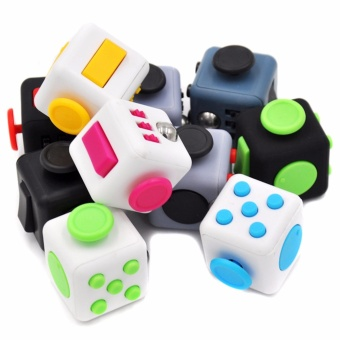 Fidget Cube (Random Color) with Free USB Fan Price Philippines