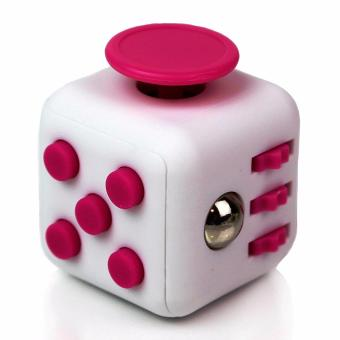 Fidget Cube Stress Reliever for Kids and Adult (pink/white) Price Philippines