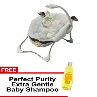 Fisher-Price Infant to Toddler My Little Lamb Infant Rocker Setwith Free Perfect Purity Extra Gentle Baby Shampoo Price Philippines