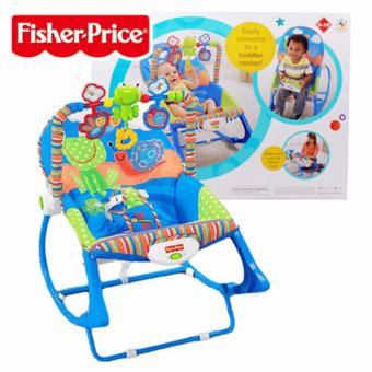 Fisher-Price Infant-to-Toddler Rocker-BLue