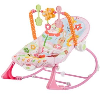 Fisher-Price Infant-to-Toddler Rocker Bunny (Pink)