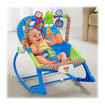 Fisher Price Infant To Toddler Rocker Chair Baby Rocker For Boys (Blue)