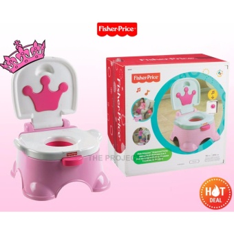 Fisher Price Princess stepstool Potty Trainer for little girl(pink) Price Philippines