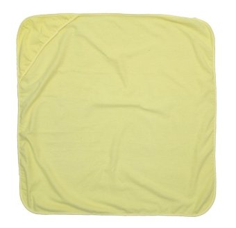 Flannel Blanket With Hood (Yellow)