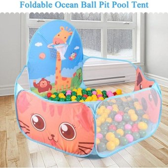 Foldable Ocean Ball Pit Pool Kids Tent House Play Toy - intl