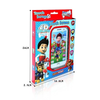 For you Paw Patrol Figure Designed Learning Mobile Toy Phone Kids Children Baby Gift - intl