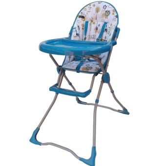 Fortune Rich High Chair 6815 - Blue/Animal