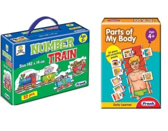 Frank Early Learner Number Train and Parts of Body Price Philippines