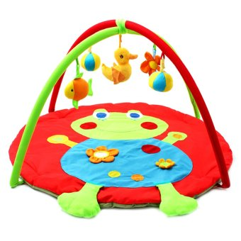 Frog Shape Baby Foldable Activity Gym Soft Play Mat