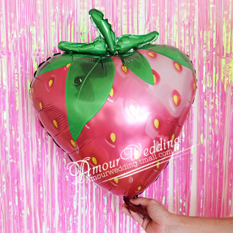 Fruit Shape aluminum foil balloon