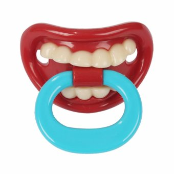 Funny Baby pacifiers Silicone Pacifiers Prank Baby Pacifiers