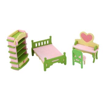 Furniture Wooden Toy Kids Bedroom Set