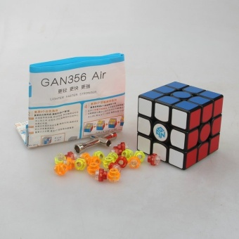 Gans Puzzle Gan356 Air 3x3 Master/Advanced/StandardBlack/white/Primar Cubo Magico Magic Cube Speed Drop Shipping -intl Price Philippines