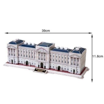 Generic 3D Puzzle Jigsaw Buckingham Palace 61 Pieces DIY Assemble Educational Toy - Intl - picture 2