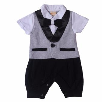 Gentlemen Suit Romper For Baby 6 to 9 Months Old