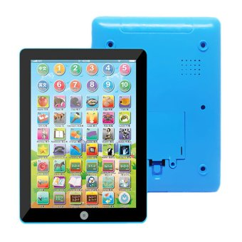 GETEK Mini English Learning Kids Educational Tablet Pad Toy (Blue) Price Philippines