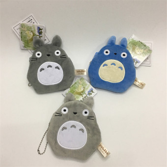 Ghibli force cute plush Totoro purse bag