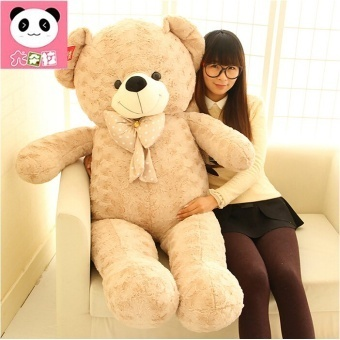 Giant Large Size Teddy Bear Plush Toys Stuffed Toy Lowest Price Birthday gifts Christmas Baby Toy Kawaii Toy - intl