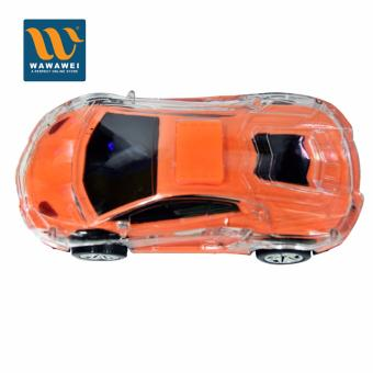 Girls Boys with Light Toy Car Auto Drive Christmas Gifts For Kids(Orange)