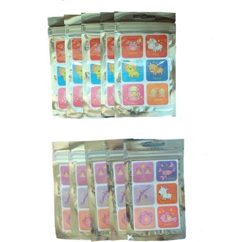 Girls Collection Mosquito Repellant Patch (Set of 10)
