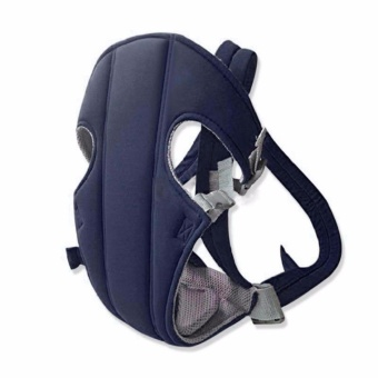 GMY Adjustable Sling Wrap Rider Infant Baby Carrier (Blue)