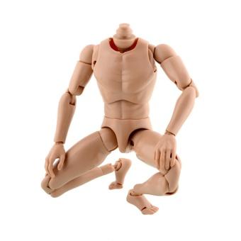 Great Fun New Narrow Shoulder 1/6 Scale Male Figure Nude Body HOT TOYS TTM18 TTM19 - intl - 3