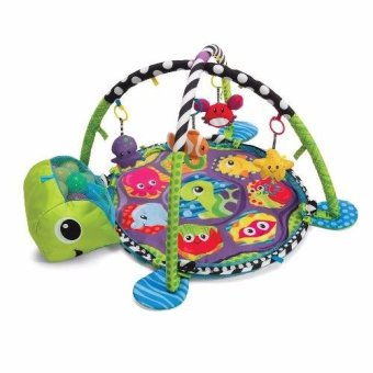 Grow With Me 3 in 1 Baby Activity Gym Play Mat & Ball Pit withMesh Sides