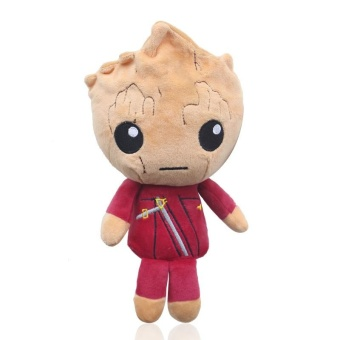 Guardians Of The Galaxy Raccoon Groot Star-Lord Plush Toy DollChildren Gift - intl Price Philippines