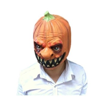 Halloween Cosplay Latex Pumpkins Mask