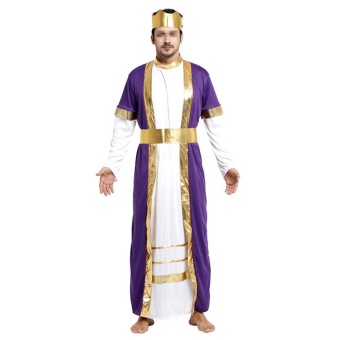 Halloween Cosplay Mask Costume Ball Costumes King Robe - Intl