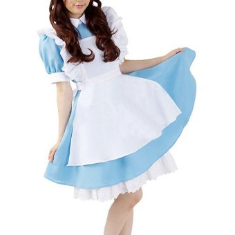 Halloween Maid Costume Alice In Wonderland Maids Outfit Fancy DressCosplay
