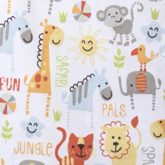 HALO SleepSack Swaddle Jungle Pals (NB 0-3m) - 4