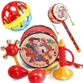 Hand educational children's children's music drum