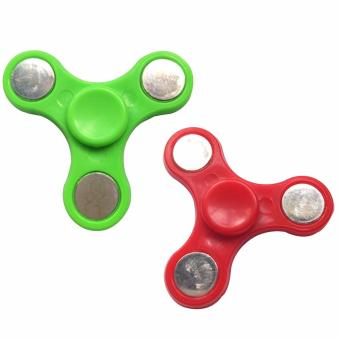 Hand Fidget Gyro Spinner Set of 2 (Color May Vary) Price Philippines