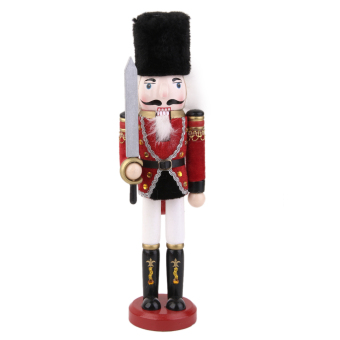 Hand Painted Wooden Nutcracker with Sword Price Philippines