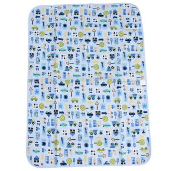 Hang-Qiao Baby Infant Urine Mat Cover Pad Durable Blue Car